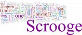 foto of scrooge  - A Word Cloud based on Charles Dickens - JPG