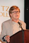 LOS ANGELES - APR 12:  Robert Redford at the Pitzer College and Robert Redford to Announce Breakthro