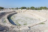 foto of bahrain  - Archaeological site of the Barbar Temple in Bahrain Middle East - JPG