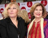 LOS ANGELES - APR 10: Kim Novak, DIane Baker at the