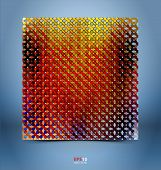 Mosaic Gradient Geometric Background