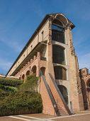 picture of turin  - Castello di Rivoli castle near Turin Italy - JPG