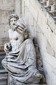 pic of cornucopia  - Roman representation of Tiber as a god  - JPG