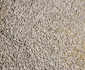 Background of crushed limestone gravel - texture