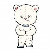 cartoon cute little bear