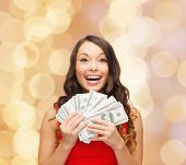 picture of money  - christmas - JPG