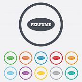 pic of fragrance  - Perfume sign icon - JPG