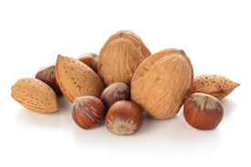 foto of mixed nut  - Mix of nuts - JPG