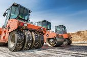 stock photo of road construction  - Road Construction - JPG