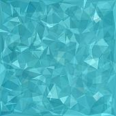foto of polygon  - Abstract Polygonal Background - JPG