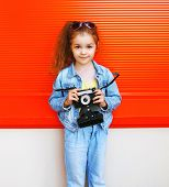 pic of little girls photo-models  - Fashion kid concept  - JPG