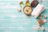 picture of salt-bowl  - Spa or wellness setting - JPG