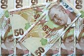 stock photo of turkish lira  - Turkish Currency  - JPG
