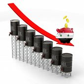 Постер, плакат: Oil business in Iraq