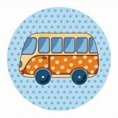 picture of transportation icons  - Transportation Car Theme Elements - JPG