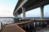Curved Architecture Bridge poster