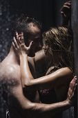 Постер, плакат: Hot Foreplay In The Shower