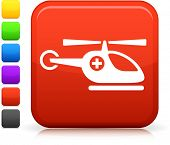 picture of medevac  - Medevac icon on square internet button  Six color options included - JPG