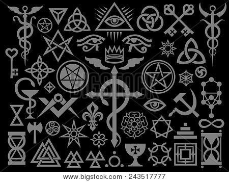 Medieval Occult Signs And Magic