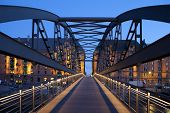 Bridge In Hamburg, Germany