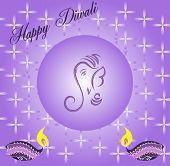 picture of ganpati  - Ganpati Diwali Greeting - JPG