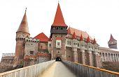 Corvin Castle (Hunyadi Castle or Hunedoara Castle), Gothic-Renaissance castle, Hunedoara, Romania. B poster