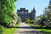 image of duke  - Inveraray Castle is an estate house near Inveraray in the county of Argyll - JPG