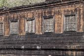 Vat Phou - Wat Phu Temple. The Ruined Khmer Temple Complex In Southern Laos. Wat Phou Was Designated poster