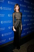NEW YORK-NOV 21; Model Karlie Kloss attends the American Museum of Natural History's 2013 Museum Gal