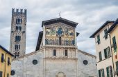 Basilica Of San Frediano In Lucca, Italy.