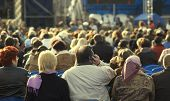 picture of matinee  - open air music show  - JPG