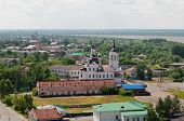 image of siberia  - Downtown of Tobolsk and view on Church of Zakhariya and Elizabeth - JPG