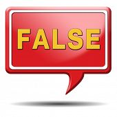 foto of tell lies  - false or wrong answer or statement telling lies - JPG