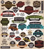 image of prize  - Set of vintage retro labels - JPG