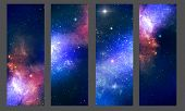 pic of stellar  - Patterns of cosmic stellar nebula nebula fantasy - JPG