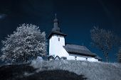 pic of templar  - Templar church at village Martincek - Slovakia