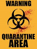 pic of scourge  - biohazard quarantine area background - JPG