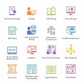 pic of storyboard  - This set contains 16 SEO and Usability Icons great for presentations - JPG