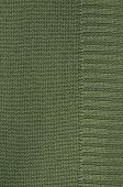 foto of knitting  - close up of a green knitted background pattern - JPG