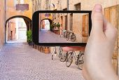 foto of ferrara  - travel concept  - JPG