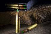 picture of piercings  - Green tipped 556 ammunition that could be banned as armor piercing - JPG