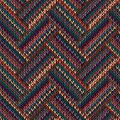 foto of knitting  - Style Seamless Knitted Pattern - JPG