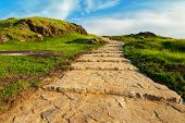 picture of heavenly  - Stone stairway to heaven - JPG