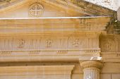 picture of pilaster  - Detail of an historical church of Matera - JPG
