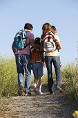 picture of 8-track  - Family on country walk - JPG