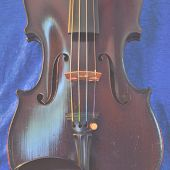 picture of bluegrass  - Softly faded violin photo to allow for text overlay - JPG