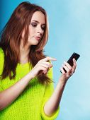 stock photo of sms  - Technology and communication - JPG