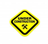 pic of dimentional  - warning sign design to three dimention for Presentation or lable - JPG