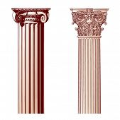 Design Elements - Ancient Columns