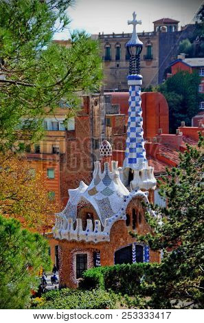 Park Guell Is An Iconic